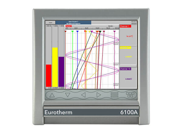 Eurotherm make 6100A / 6180A Paperless Graphic Recorders From Shree Venkateshwara Controls