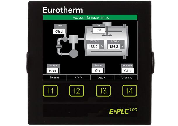 Eurotherm make E+PLC100 Combination PLC From Shree Venkateshwara Controls
